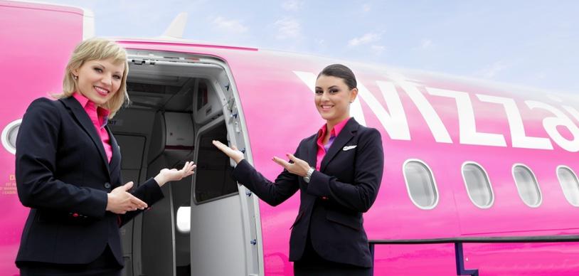 WizzAir бронирование мест